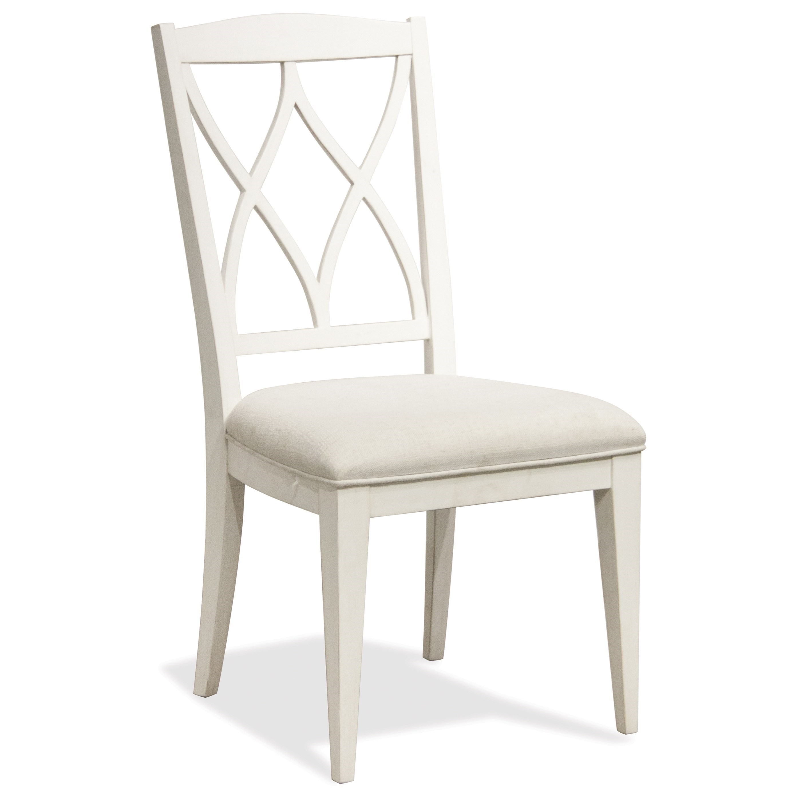 Myra XX-Back Upholstered Side Chair by Riverside Furniture at Johnny Janosik