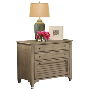Lateral File Cabinet with Louvered Drawer