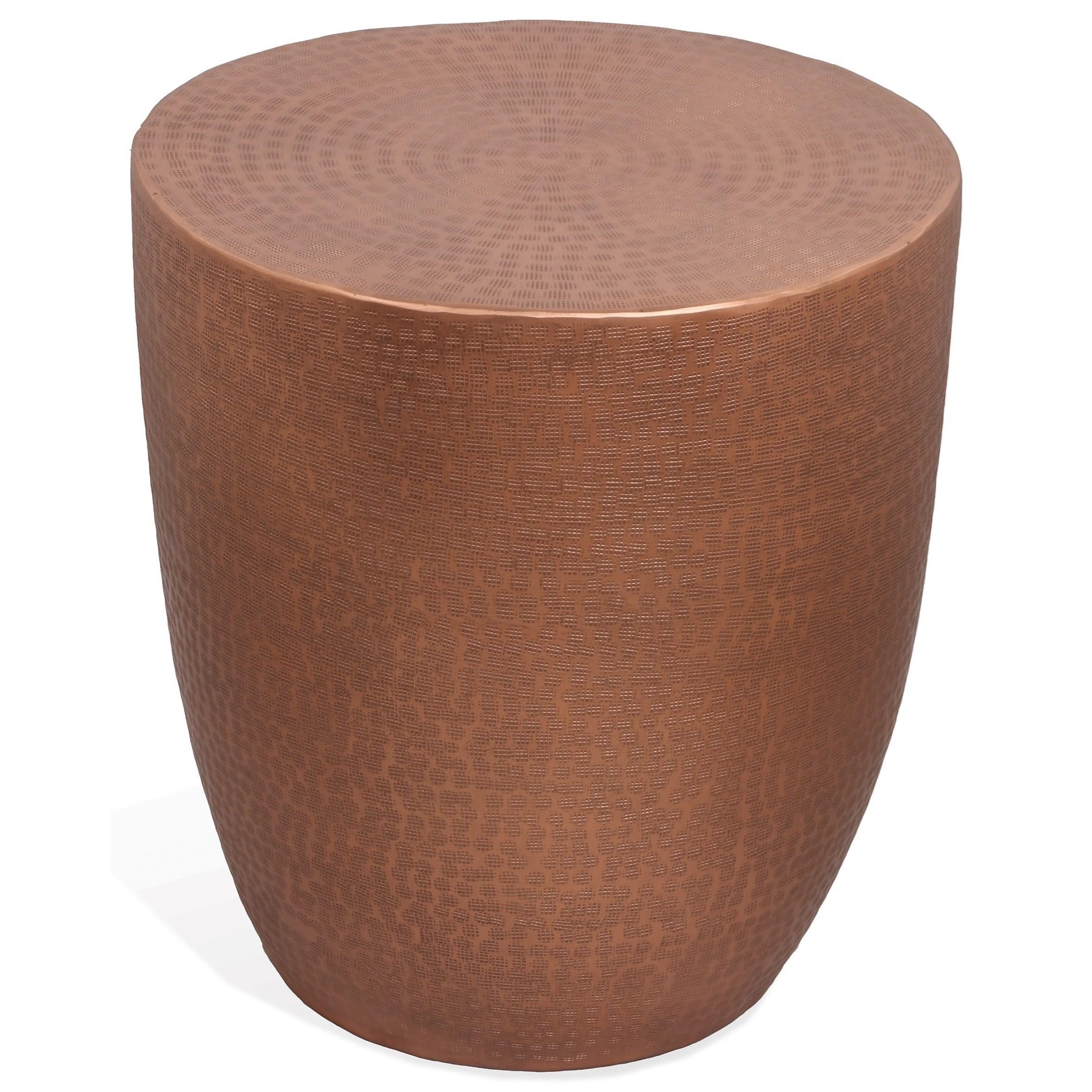Nadene Drum End Table by Riverside Furniture at Zak's Home