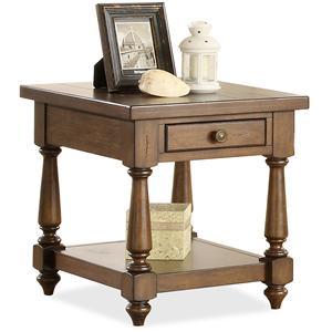Riverside Furniture Newburgh End Table