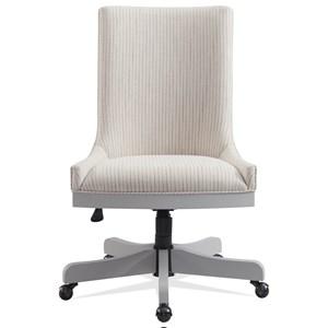 Upholstered Adjustable Desk Chair