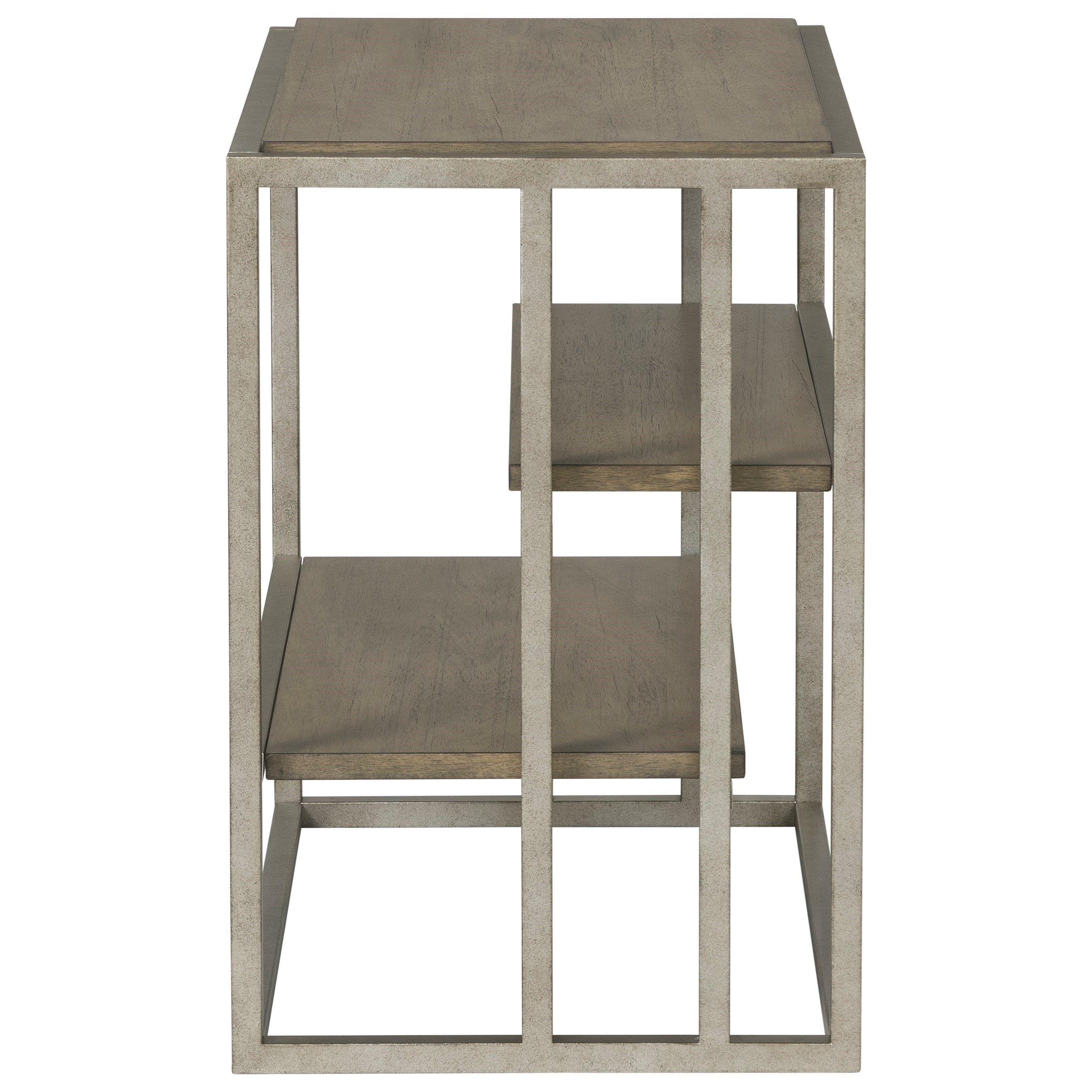 Paradigm Chairside Table by Riverside Furniture at Mueller Furniture