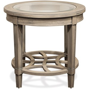 Riverside Furniture Parkdale Round End Table