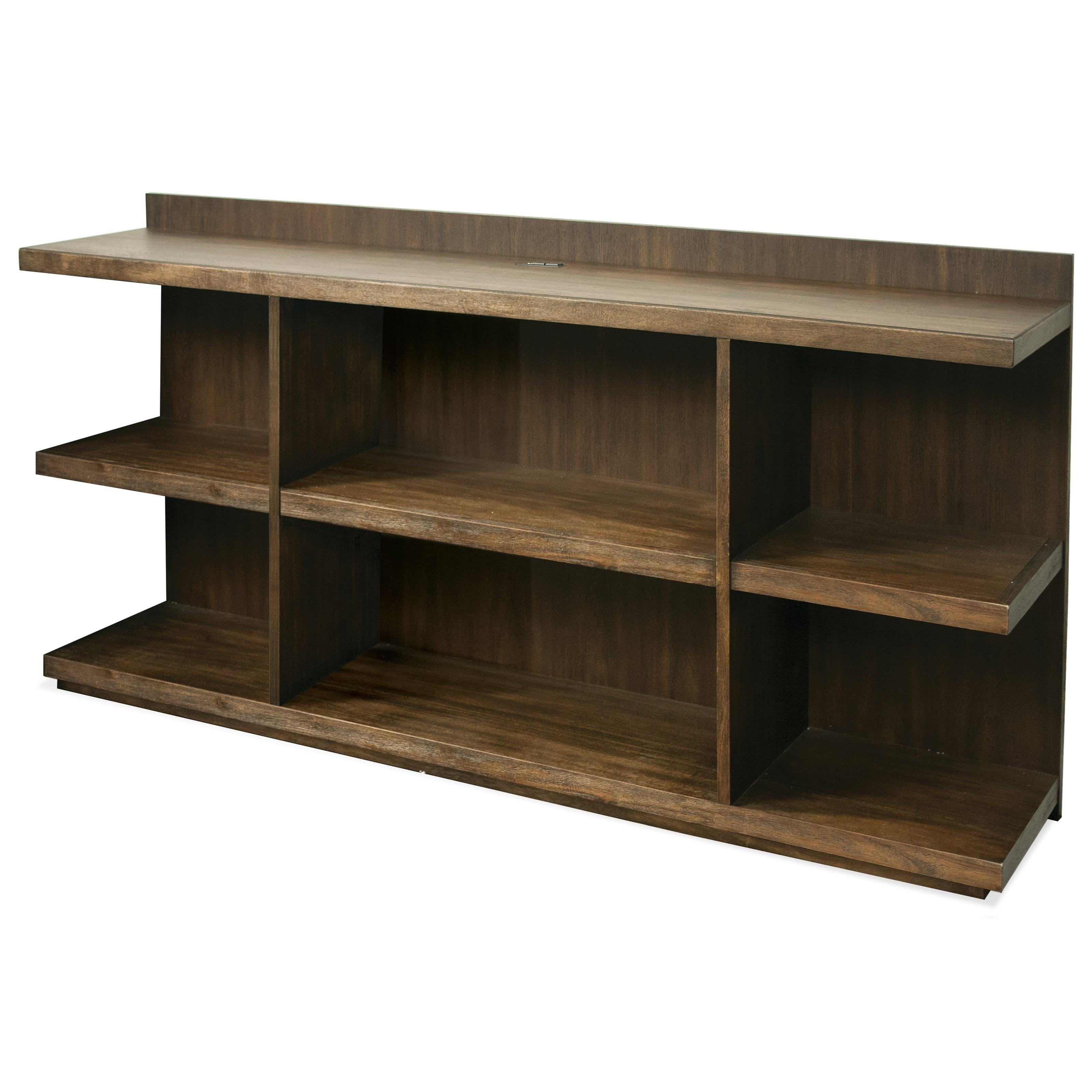 Perspectives Peninsula Bookcase Desk by Riverside Furniture at Mueller Furniture