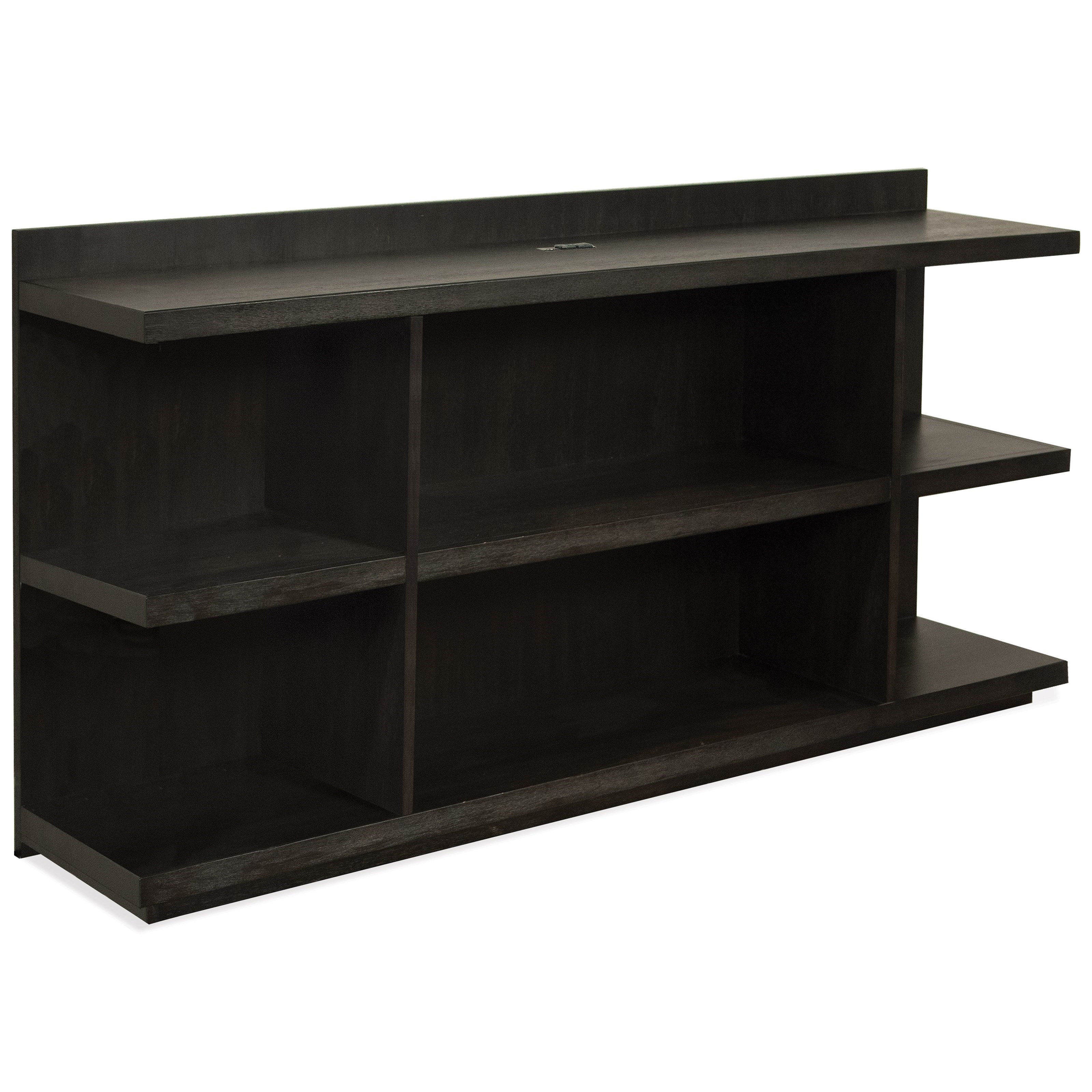 Perspectives Peninsula Bookcase Desk by Riverside Furniture at Johnny Janosik