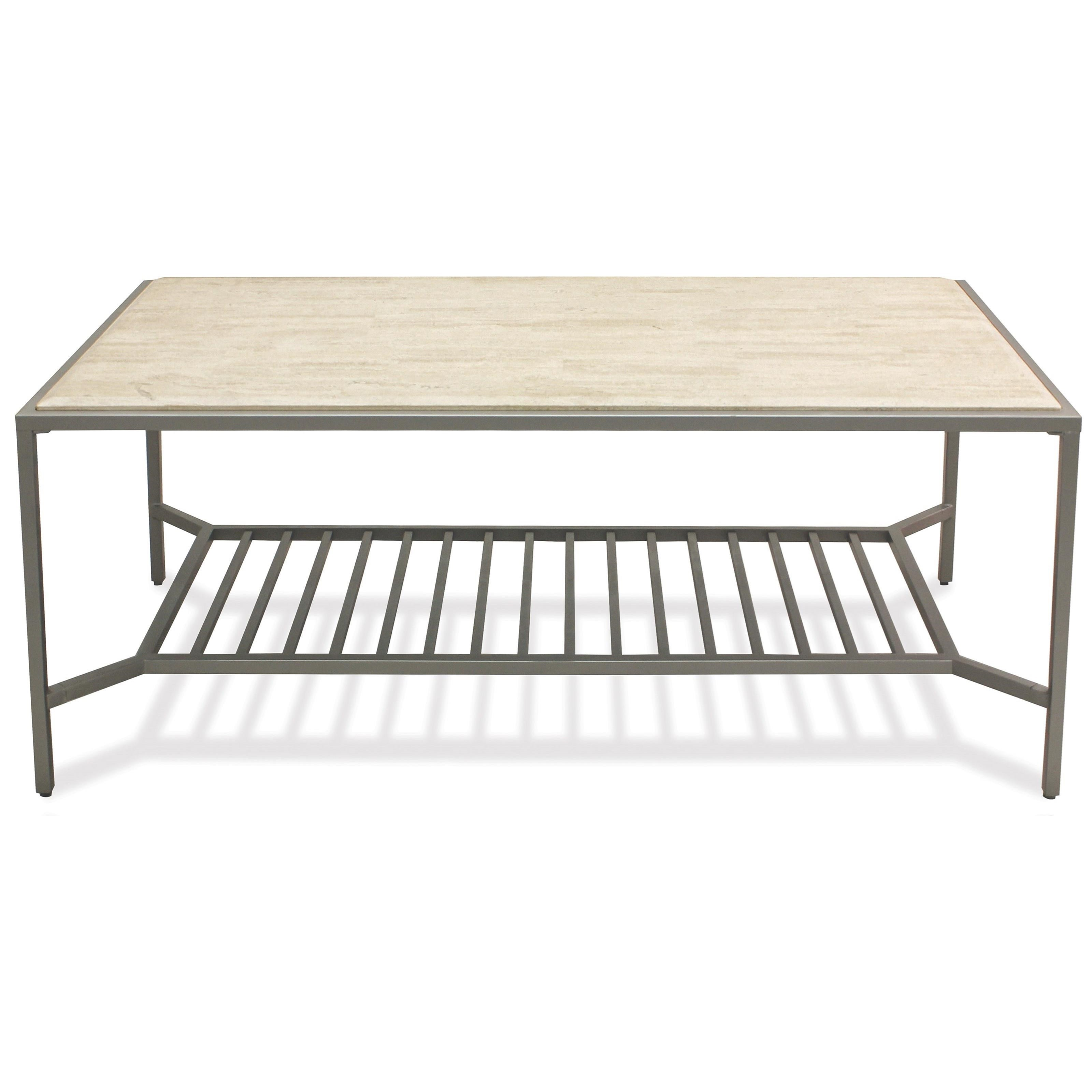 Pinnacle Rectangle Cocktail Table by Riverside Furniture at Zak's Home