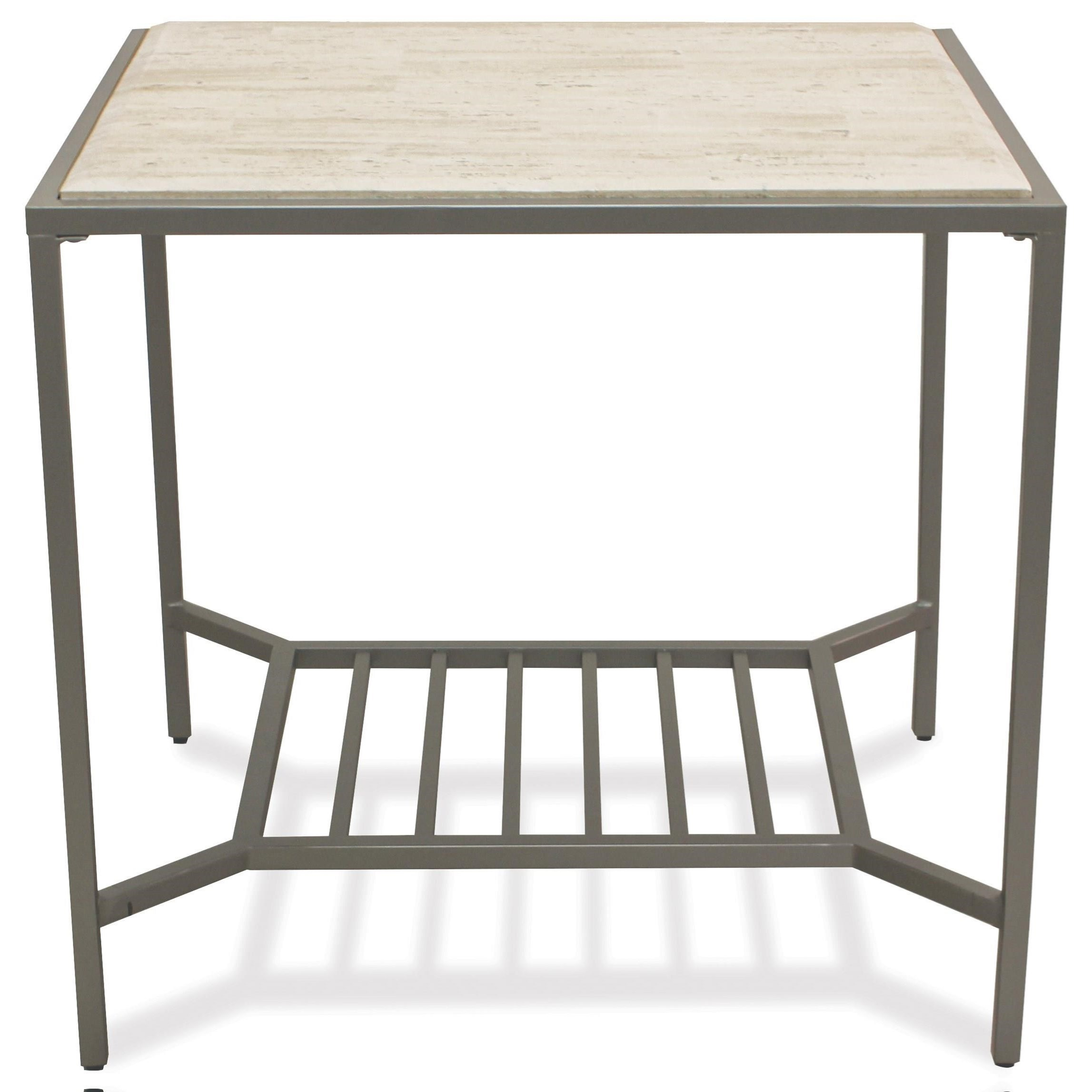 Pinnacle Rectangle End Table by Riverside Furniture at Mueller Furniture