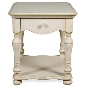 Riverside Furniture Placid Cove Rectangular End Table