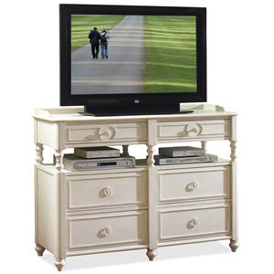 Riverside Furniture Placid Cove Media Chest