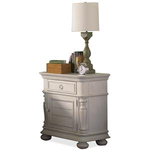 Riverside Furniture Placid Cove Doored Nightstand