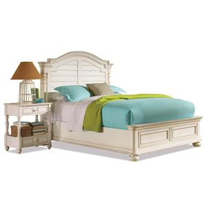 Riverside Furniture Placid Cove Queen Arch Bed