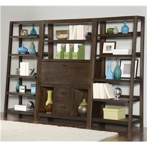 Canted Office Wall Unit