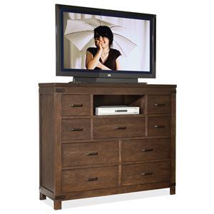 Riverside Furniture Promenade  9 Drawer Media Chest