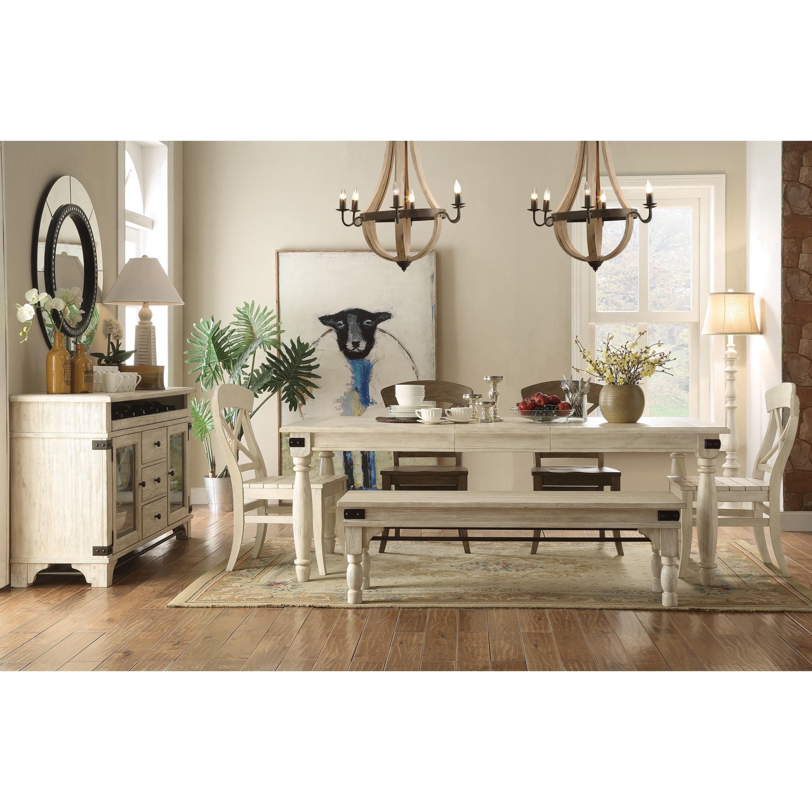 Regan Dining Room Group by Riverside Furniture at Furniture Barn