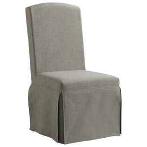 Upholstered Slipcover Chair