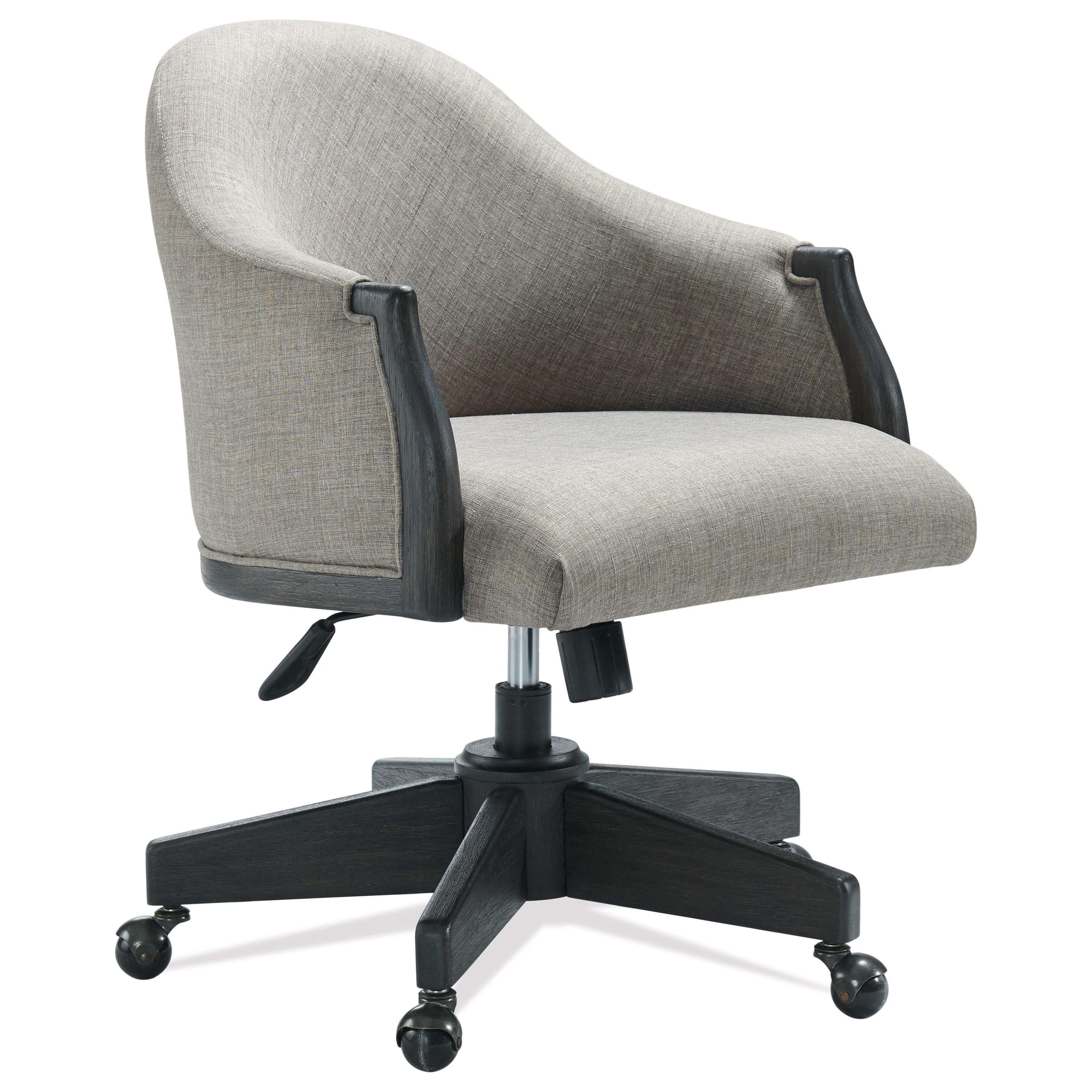 Regency Upholstered Desk Chair by Riverside Furniture at Mueller Furniture