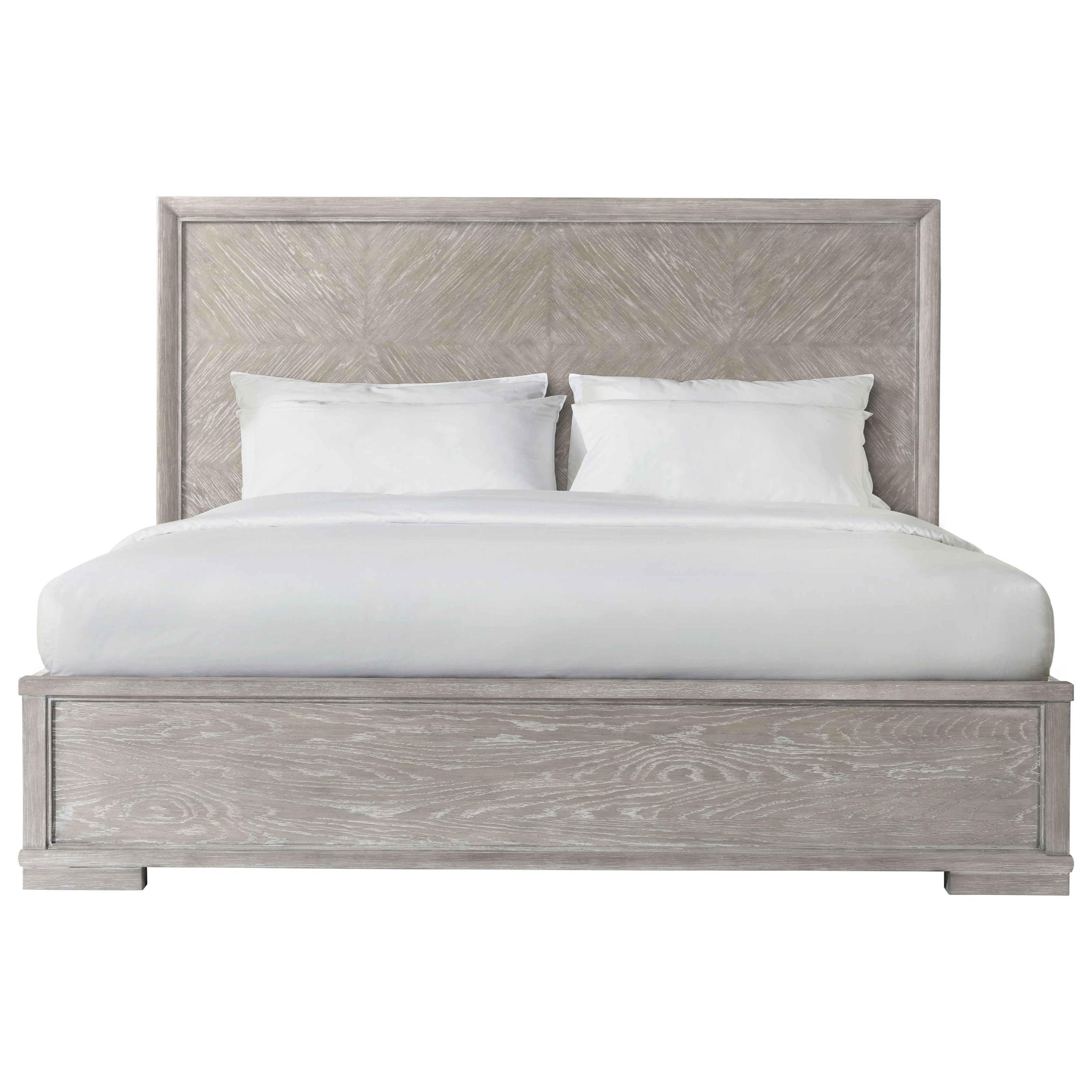 Remington King Panel Bed by Riverside Furniture at Zak's Home