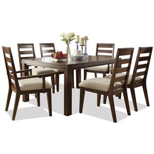 Riverside Furniture Riata 7-Pc Rectangular Dining Table Set