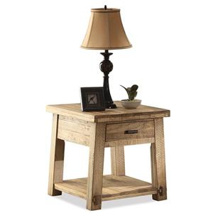 Riverside Furniture Ridgedale End Table