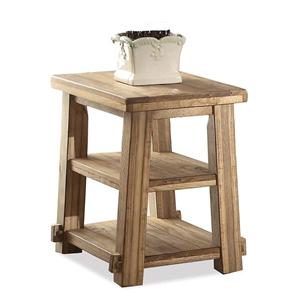 Riverside Furniture Ridgedale Chairside Table