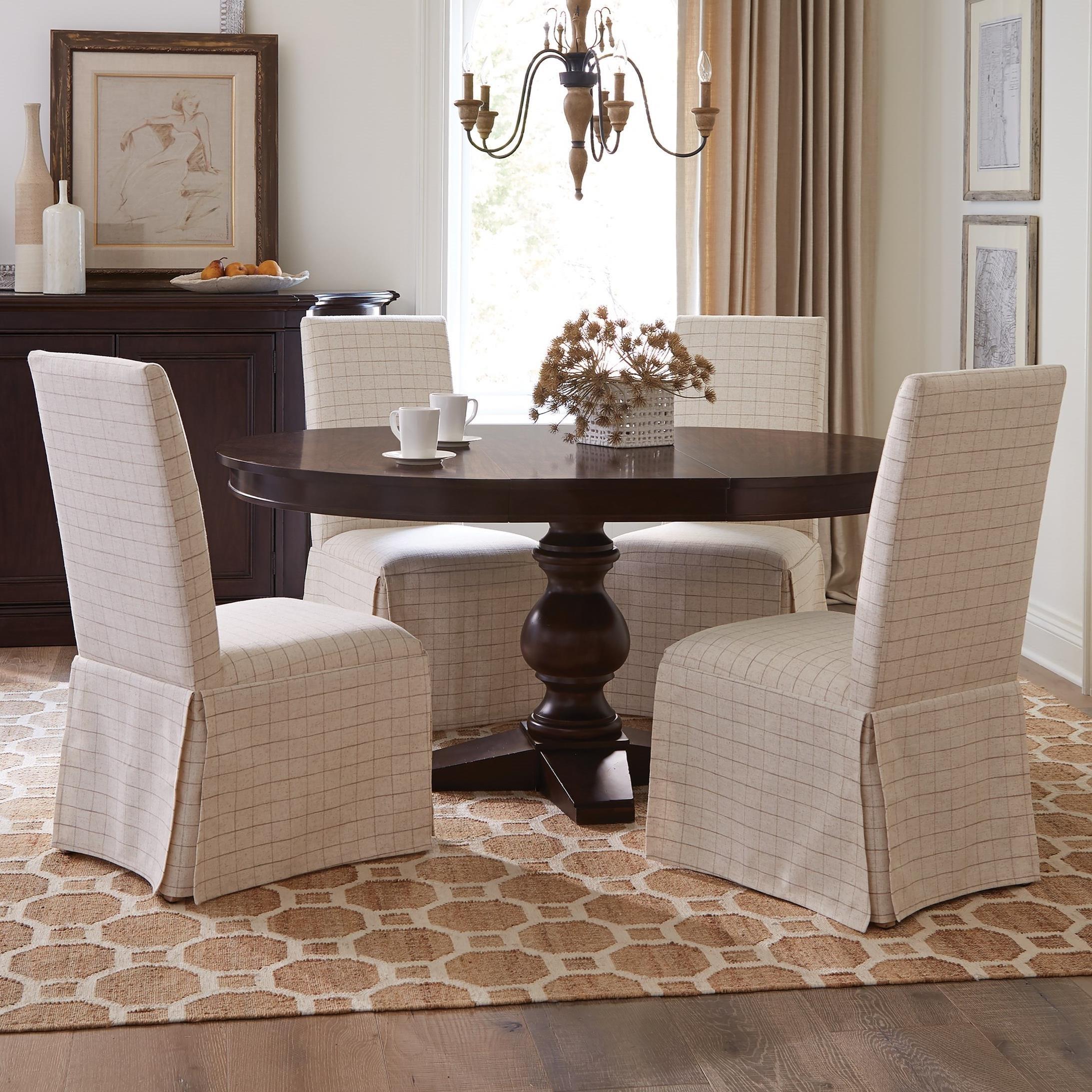 Rosemoor 5-Piece Round Dining Table Set by Riverside Furniture at Mueller Furniture