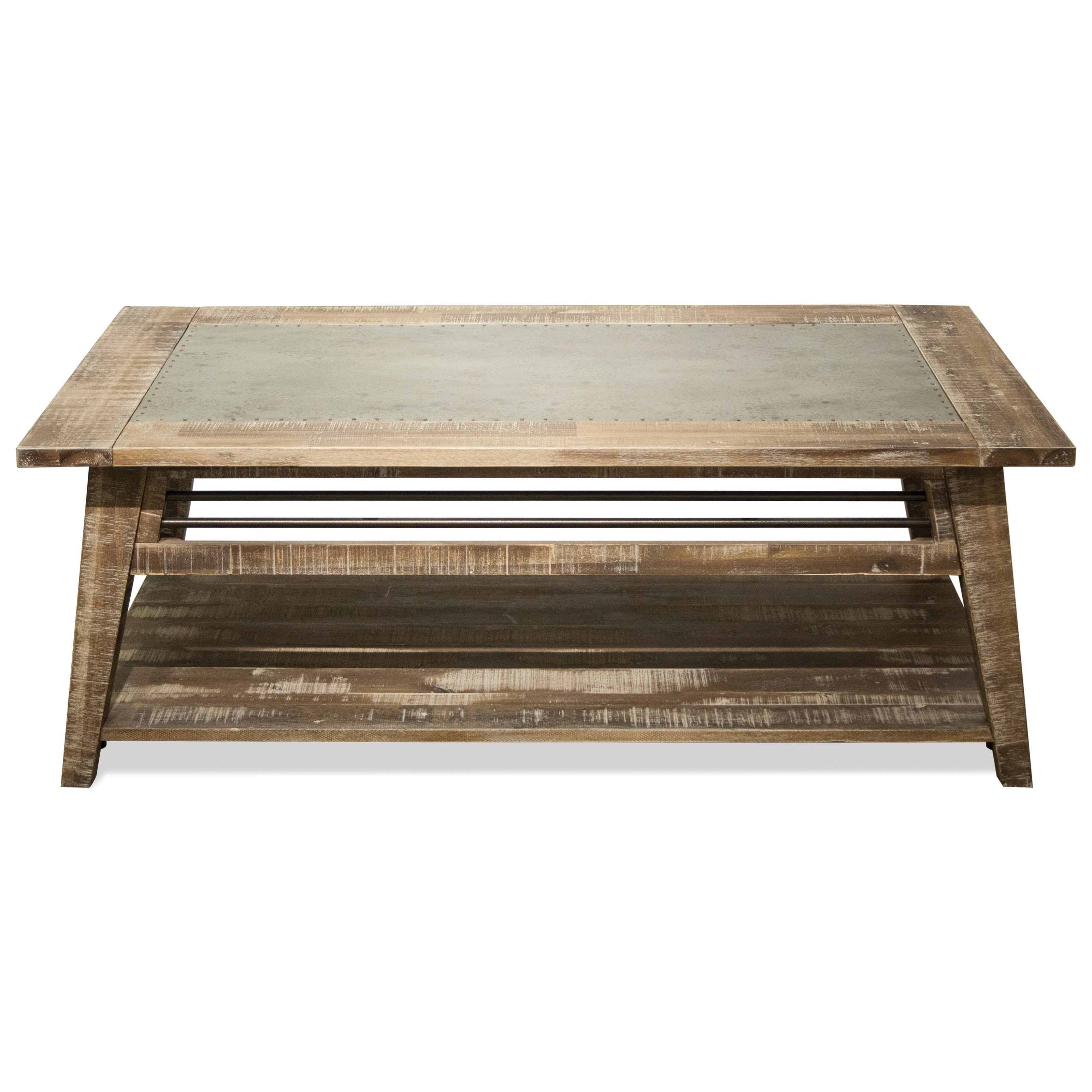 Rowan Coffee Table by Riverside Furniture at Zak's Home