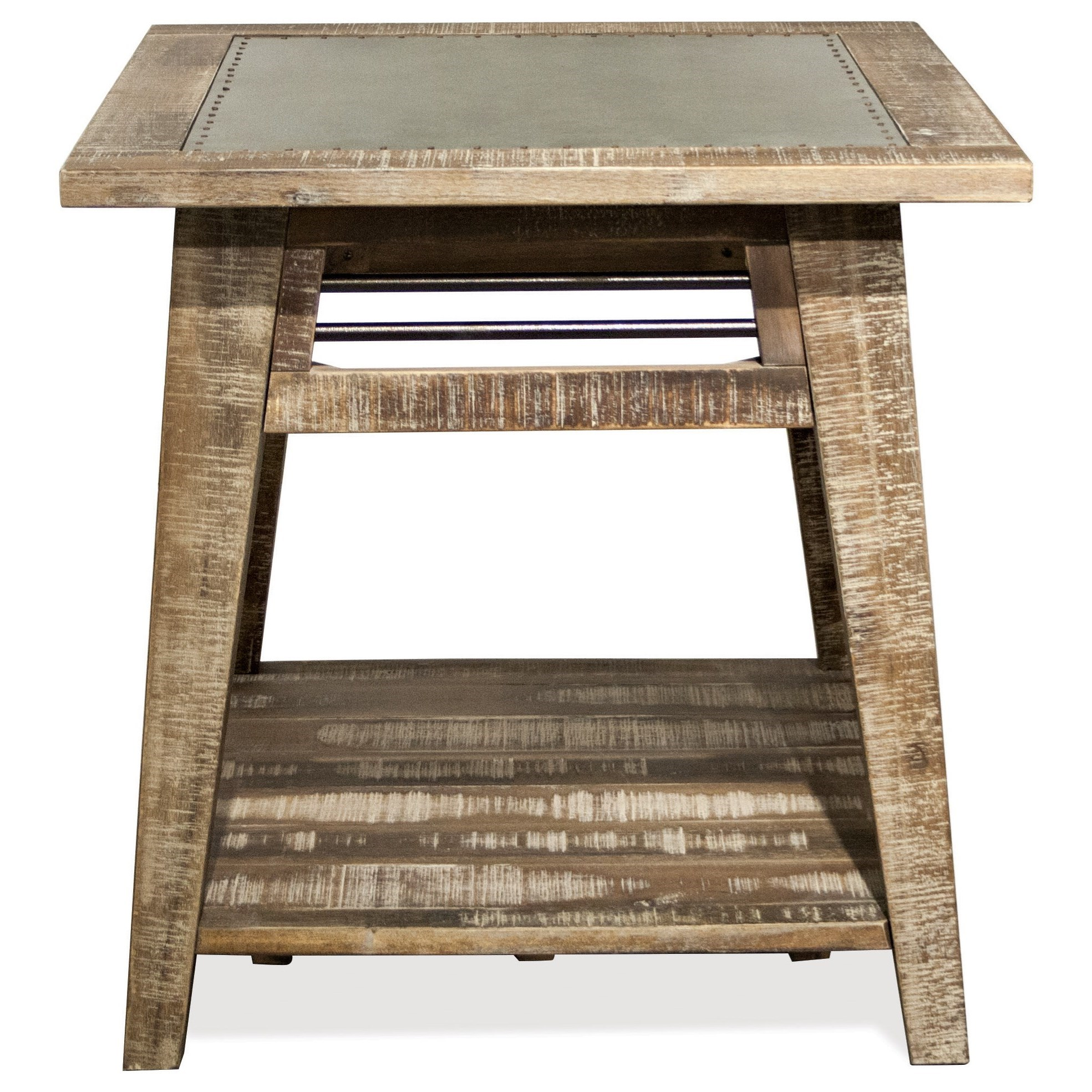 Rowan Side Table by Riverside Furniture at Powell's Furniture and Mattress