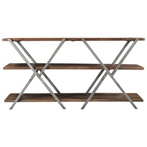 Contemporary Console Table with Metal Legs