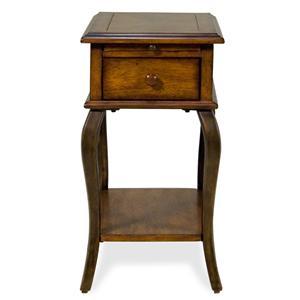 Riverside Furniture Serena  Chairside Table
