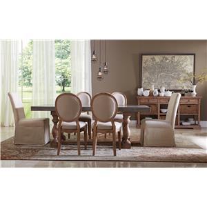 Riverside Furniture Sherborne Formal Dining Room Group 4