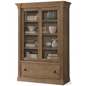 Riverside Furniture Sherborne Sliding Door Bookcase