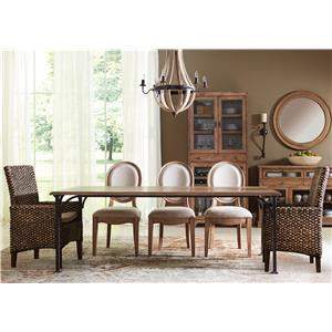 Riverside Furniture Sherborne 6 Piece Table and Chair Set