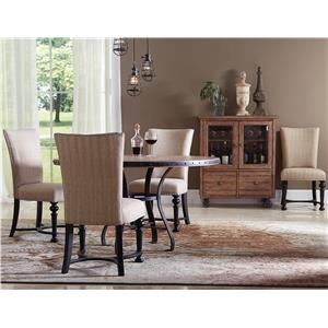 Riverside Furniture Sherborne 5 Piece Table and Chair Set