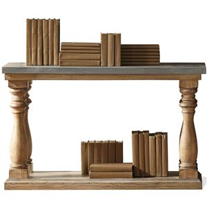 Riverside Furniture Sherborne Concrete Top Sofa Table