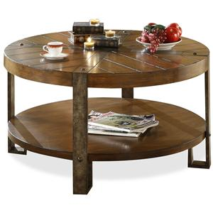 Riverside Furniture Sierra Sierra Round Coffee Table