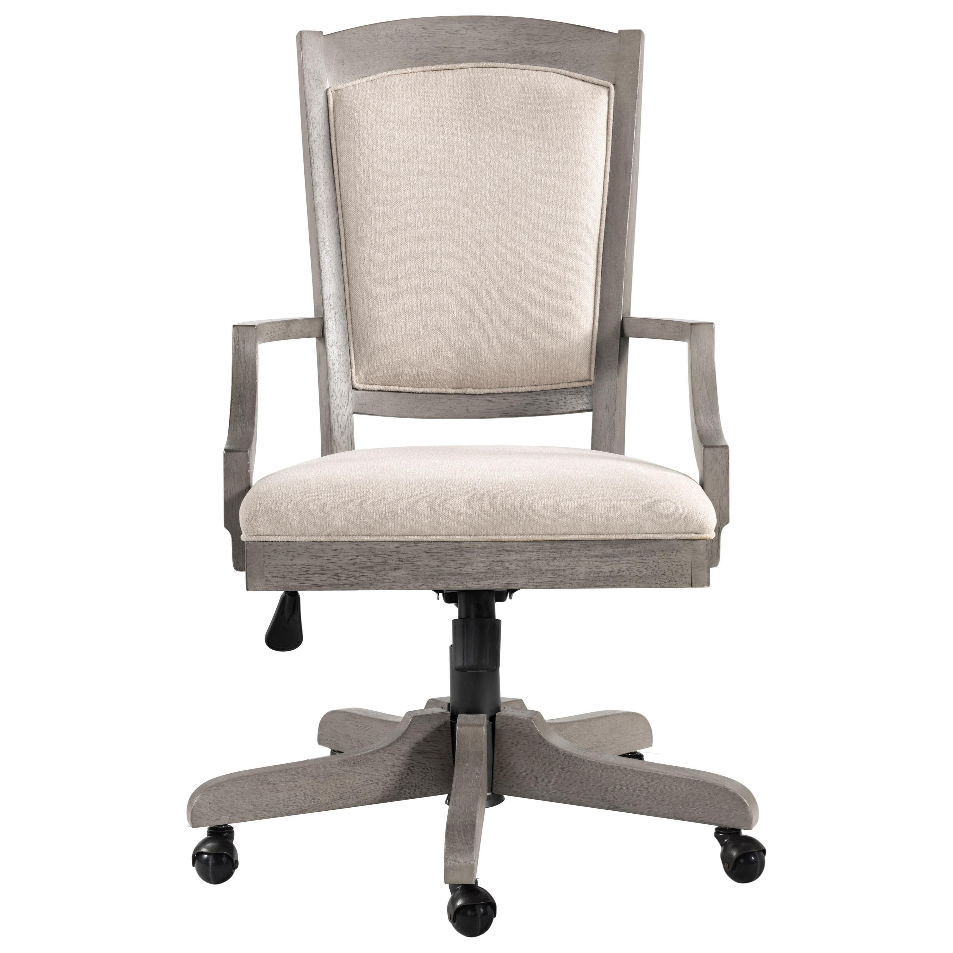 Sloane Upholstered Desk Chair by Riverside Furniture at Zak's Home