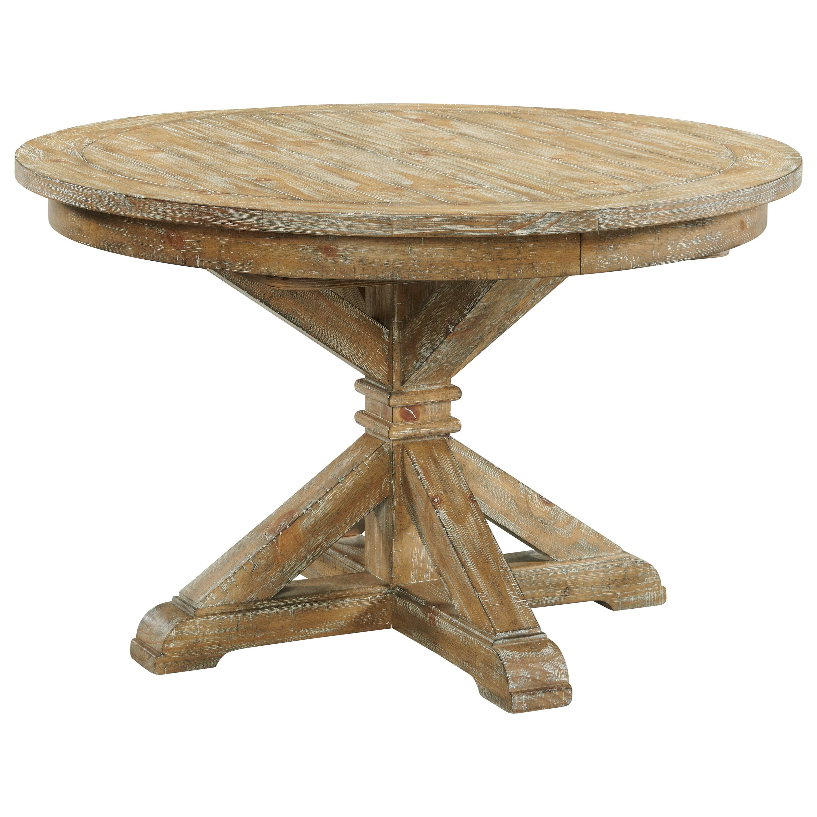 Sonora Round Dining Table by Riverside Furniture at Zak's Home