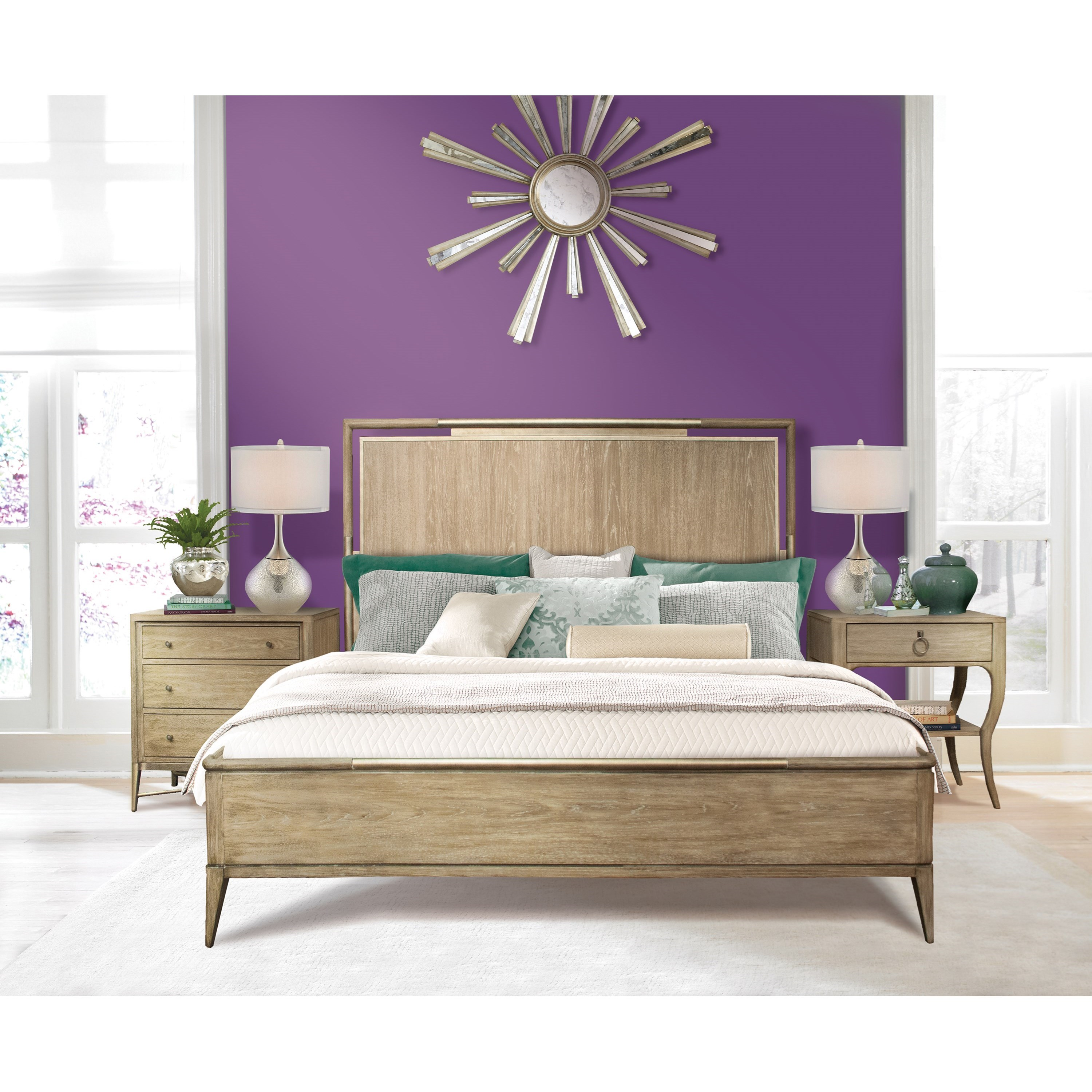 Sophie Queen Bedroom Group by Riverside Furniture at Zak's Home