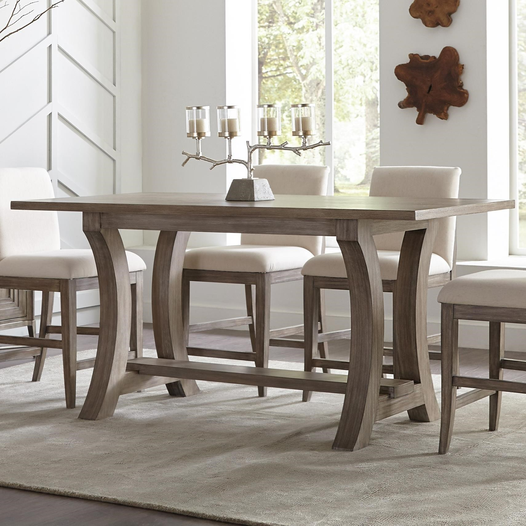 Sophie 76-Inch Counter Height Table by Riverside Furniture at Johnny Janosik