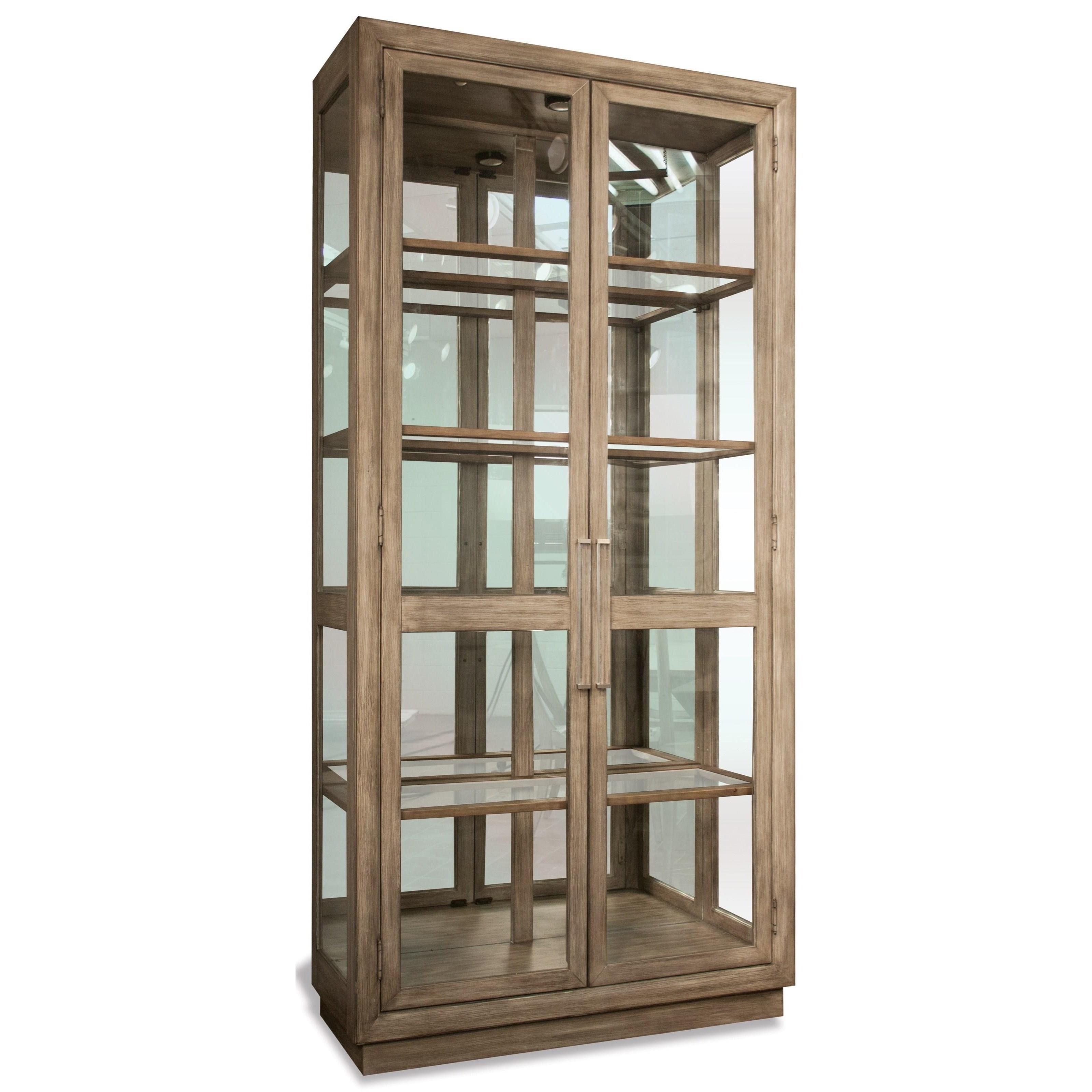 Stephanie Stephanie Display Cabinet by Riverside Furniture at Morris Home
