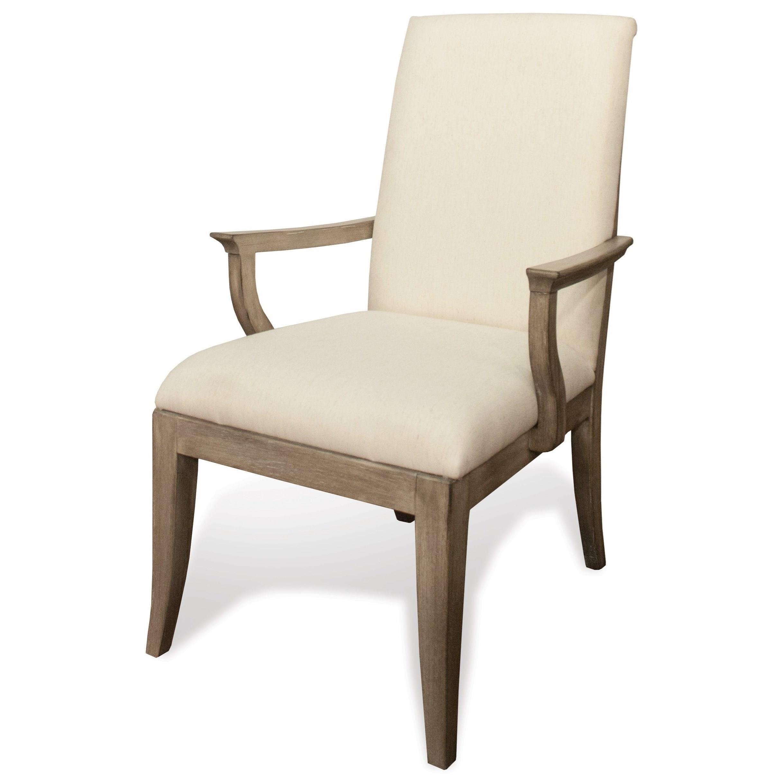 Stephanie Stephanie Arm Chair by Riverside Furniture at Morris Home