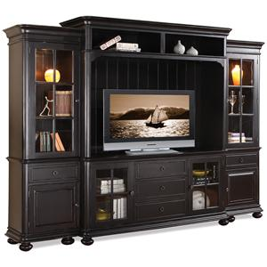 Riverside Furniture Summit Entertainment Wall Unit