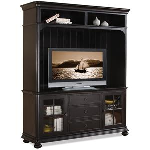 Riverside Furniture Summit TV Console & Hutch