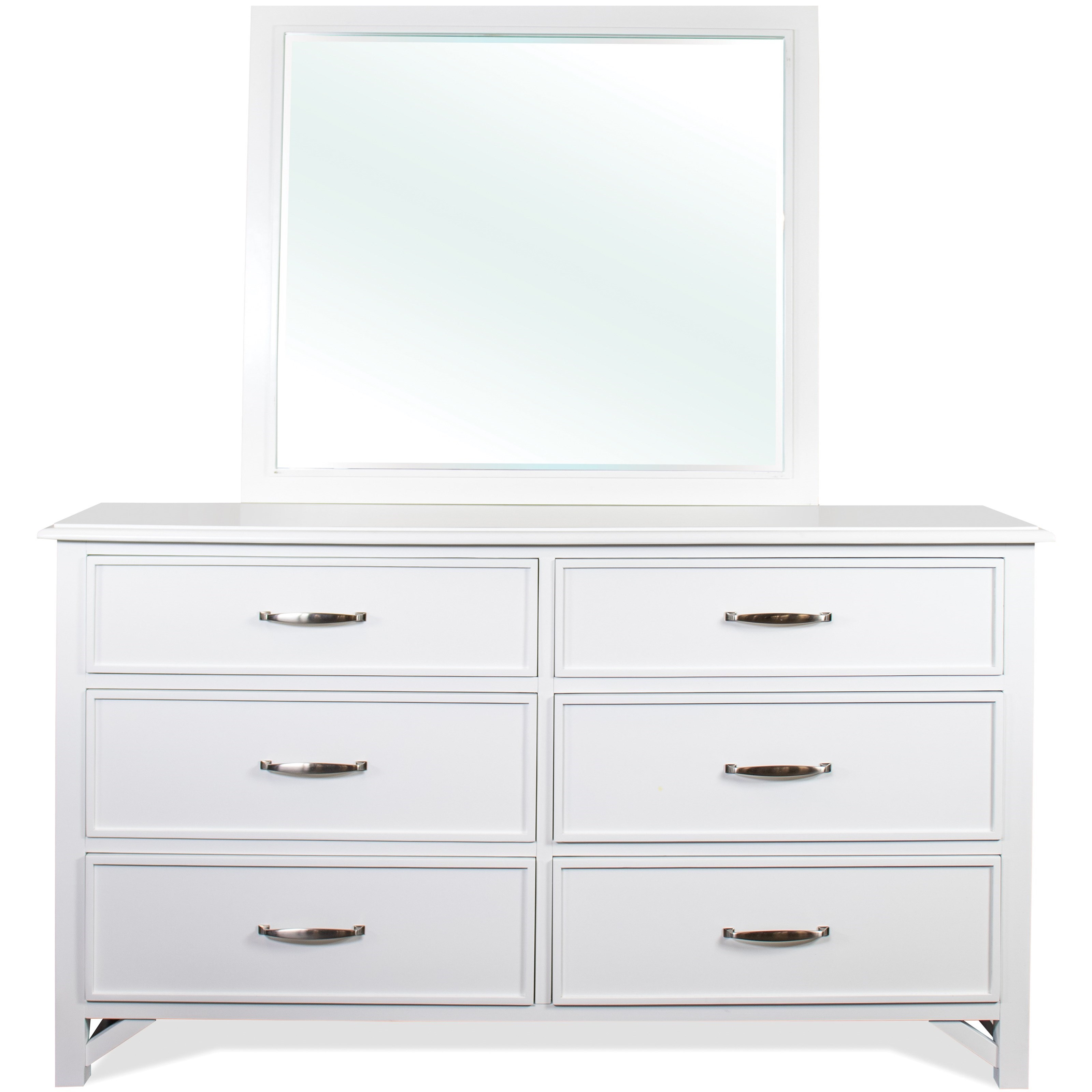 Talford Cotton Dresser and Mirror Set by Riverside Furniture at Mueller Furniture