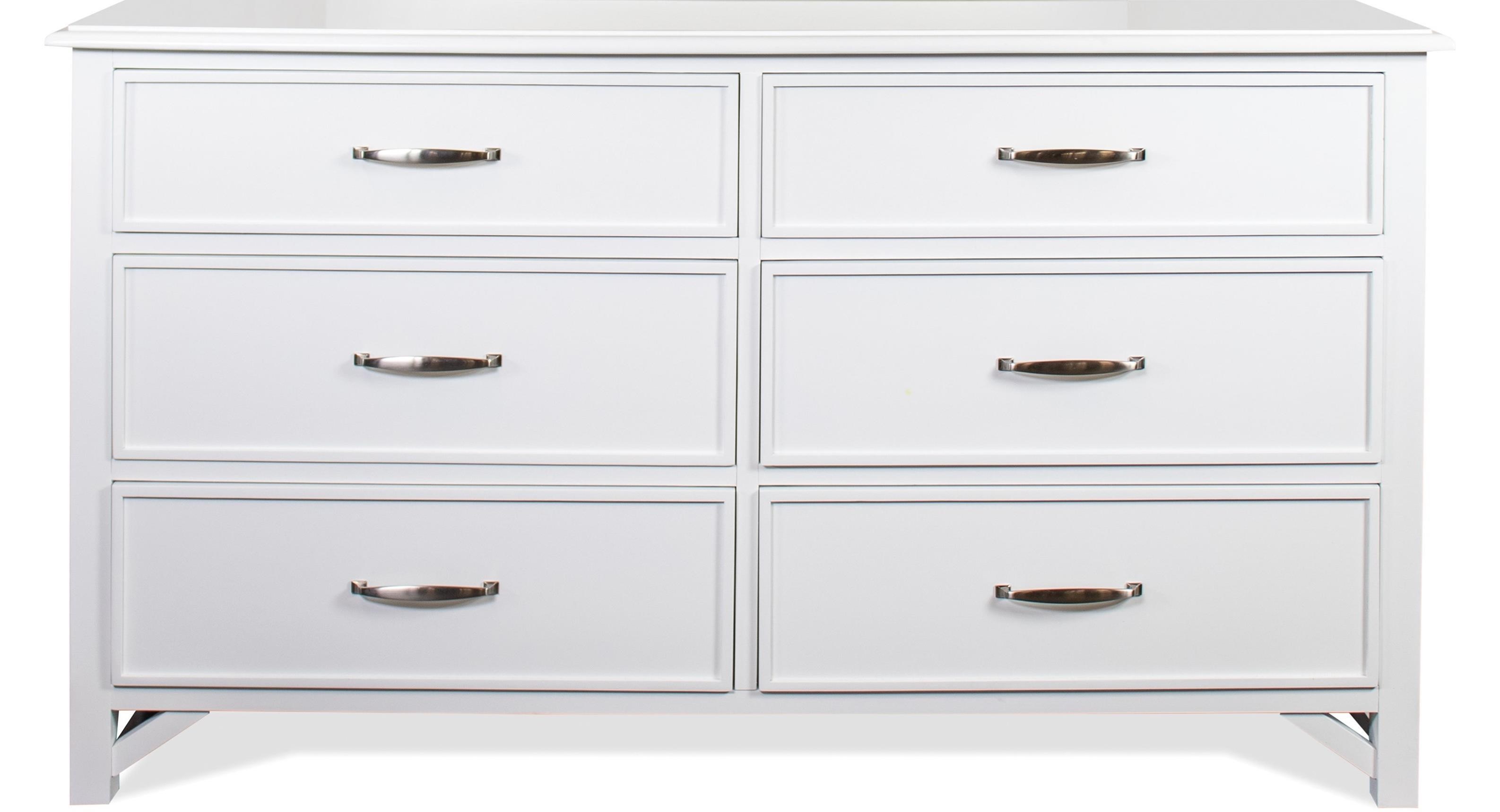 Talford Cotton 6-Drawer Dresser by Riverside Furniture at Zak's Home