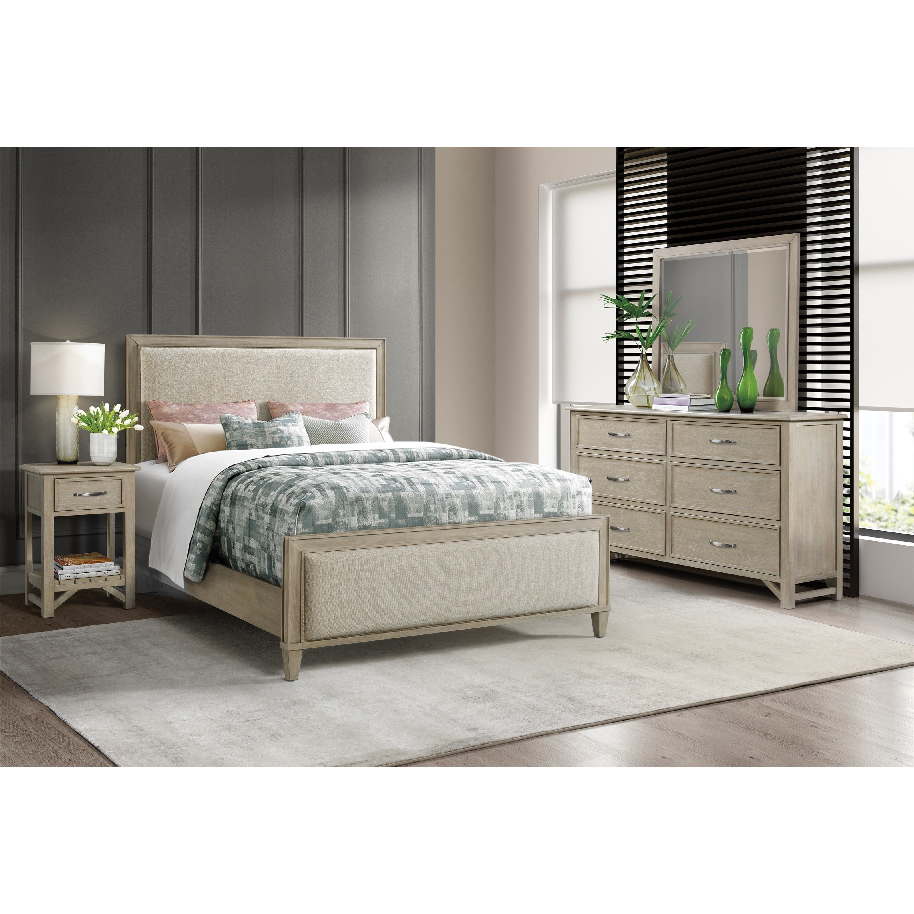 Talford Natural Queen Bedroom Group  by Riverside Furniture at Mueller Furniture