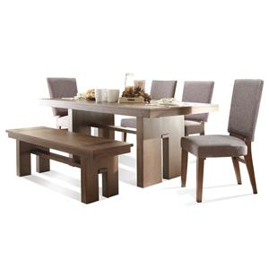 Riverside Furniture Terra Vista 6 PC Table Set