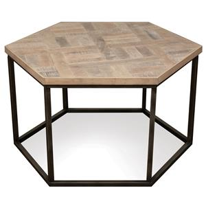Riverside Furniture Thornhill Hexagon Coffee Table