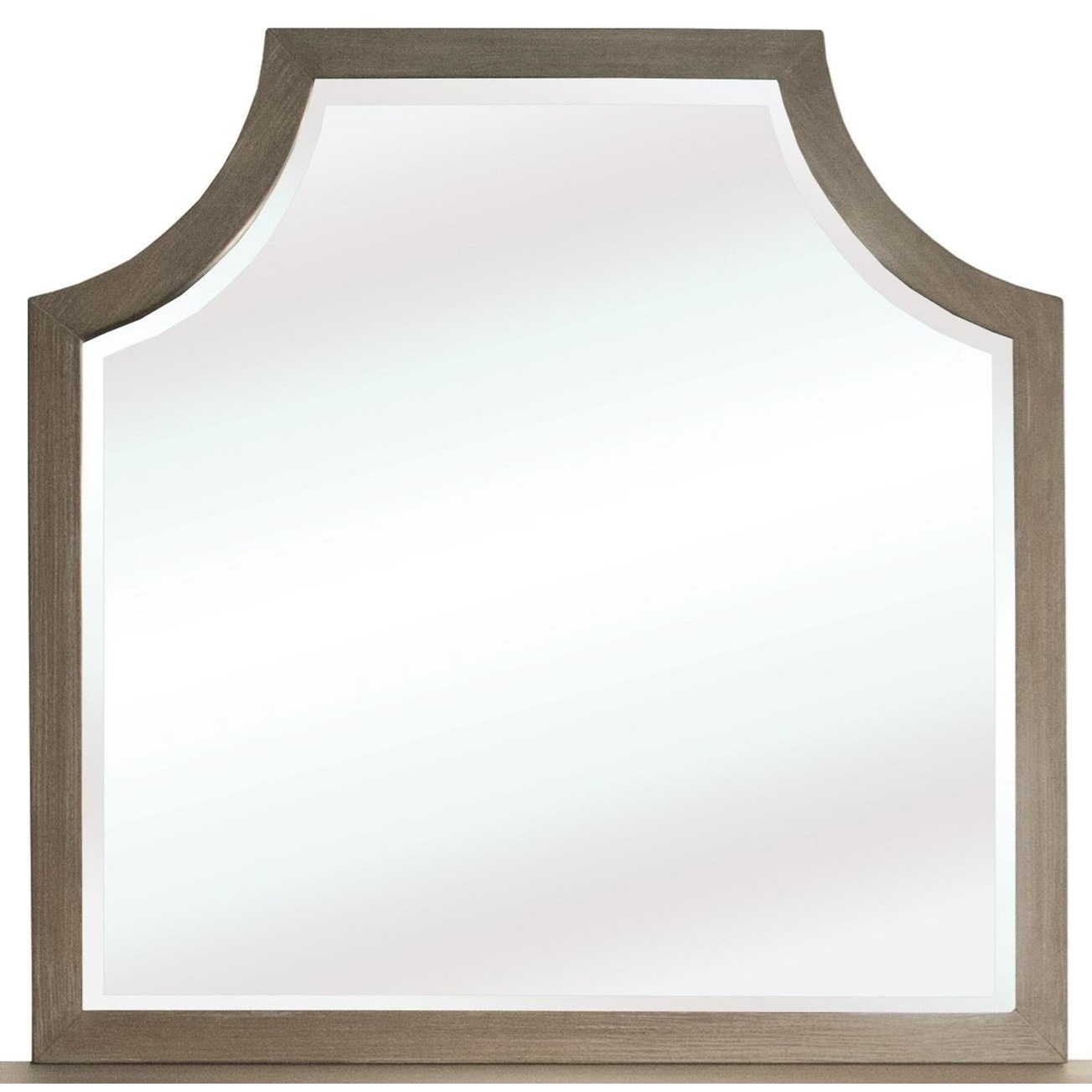 Vogue Arch Mirror by Riverside Furniture at Darvin Furniture