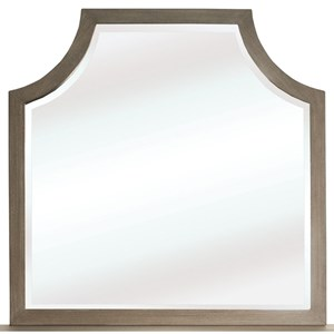 Arch Mirror with Cutout Corners